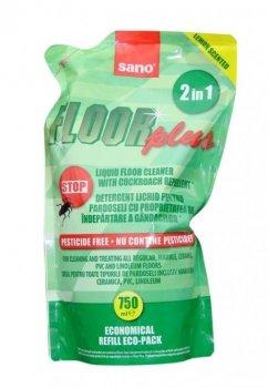 Средство для мытья пола Sano с репеллентом 750 мл (7290102990269)