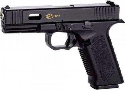 Пістолет пневматичний SAS G17 (Glock 17) Blowback