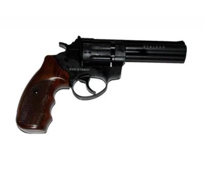"Револьвер Флобера Stalker 4,5"" wood силумин"