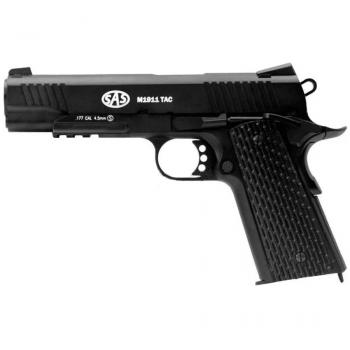 Пневматичний пістолет SAS M1911 Tactical