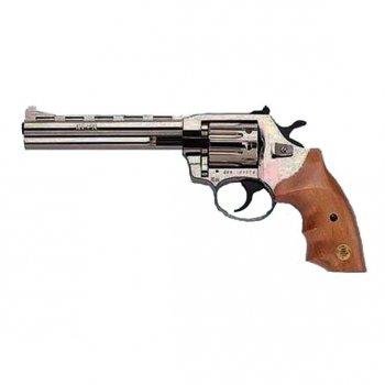 Револьвер Флобера ALFA model 461 (нікель, дерево)