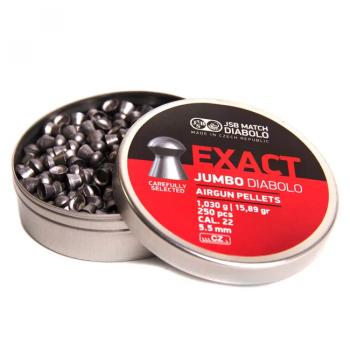 Кулі пневм JSB Exact Jumbo 5,51 мм , 1,03 кг, 250 шт/уп