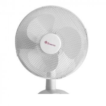 Настольный вентилятор Domotec MS-1626 3 режима белый