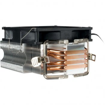Кулер для CPU Argus (SU-260) 120мм LGA 775, 1150, 1151, 1155, 1156, 1366, AM2, AM2 +, AM3, AM3 +, FM1, FM2, АМ4 TDP 150 ВТ,26 дБА, 155 х 127 х 83мм