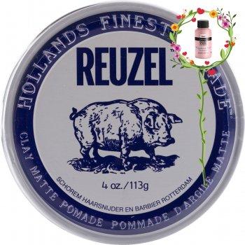 Віск для волосся REUZEL HOLLANDS FINEST POMADE CLAY MATTE 113G (852578006843)