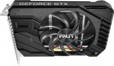 Palit PCI-Ex GeForce GTX 1660 StormX OC 6GB GDDR5 (192bit) (1530/8000) (1 x DVI, 1 x HDMI, 1 x DisplayPort) (NE51660S18J9-165F)