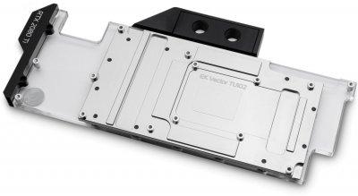 Водоблок EKWB EK-Vector RTX RE Ti RGB - Nickel + Plexi (3831109815861)
