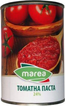 Упаковка томатной пасты Marea Tomato Paste 24% 2 шт х 400 г (8033219790075)