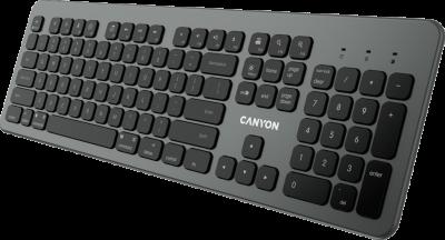Клавиатура беспроводная Canyon BK-10 (CND-HBTK10-RU)