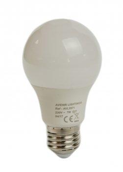 Енергозберігаюча лампочка 7W (E27) 550lm Avenor 6х10,8см Білий 000009495