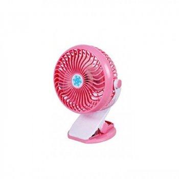 Настільний міні-вентилятор Remax F2 ML-F168 з прищіпкою Рожевий