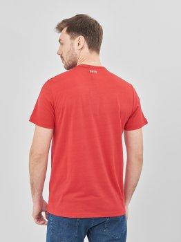 Футболка Hugo Boss 7605.3 Красная
