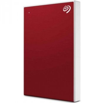 Зовнішній жорсткий диск Seagate Backup Plus Slim 1TB STHN1000403 Red