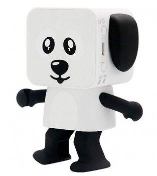 Колонка Dancing Dog Bluetooth Speaker White