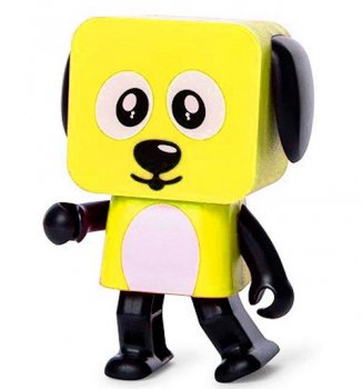 Колонка Dancing Dog Bluetooth Speaker Yellow