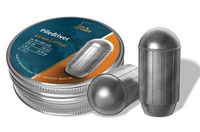 Свинцеві кулі H&N Piledriver 4,5 мм 1,36 г 250 шт (1453.02.61)
