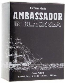 Мужская парфюмерия Туалетная вода Parfums Genty Ambassador In Black Sea man edt 100ml (4601364042352)