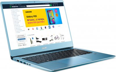 Ноутбук Acer Swift 3 SF314-41-R1C9 (NX.HFEEU.034) Glacier Blue