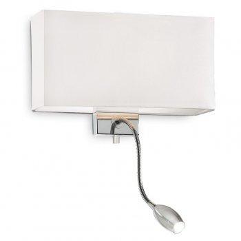 Настінний світильник Ideal Lux Hotel Ap2 All White (215693)