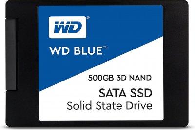 "Накопичувач SSD 2.5"" SATA 500GB WD Blue (WDS500G2B0A)"