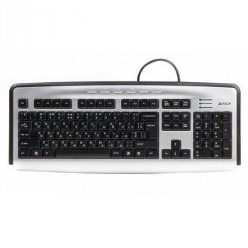 Клавіатура A4-Tech KL-23MUU Silver/Black USB Б/У