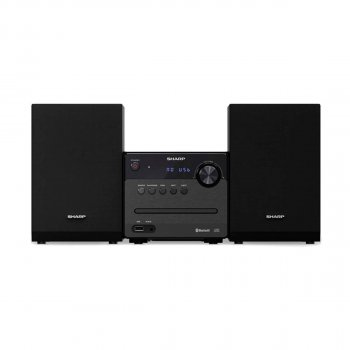 SHARP Micro Sound System Black (XL-B510(BK))