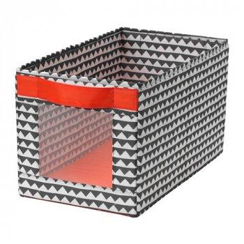 Коробка IKEA ANGELÄGEN 25x44x25 см разноцветная 604.179.39