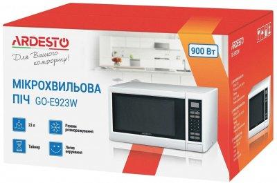 Мікрохвильова піч Ardesto GO-E923W 23л/900Вт/ел.управл./біла