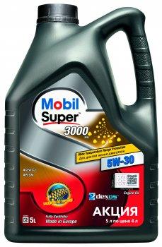 Моторна олива Mobil Super 3000 XE 5W-30 5 л (156156)