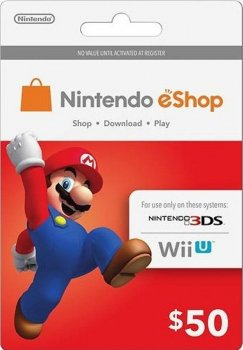 Nintendo eShop Card $50 (USA)