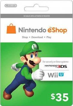 Nintendo eShop Card $35 (USA)