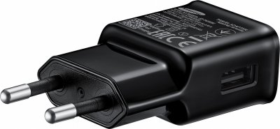 Сетевое зарядное устройство Samsung AFC TA + Type-C Cable (1EA) Black (EP-TA20EBECGRU)