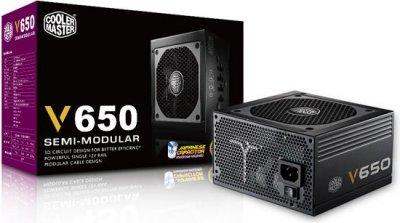 Блок живлення Cooler Master V650 650W (RS650-AFBAG1-EU)