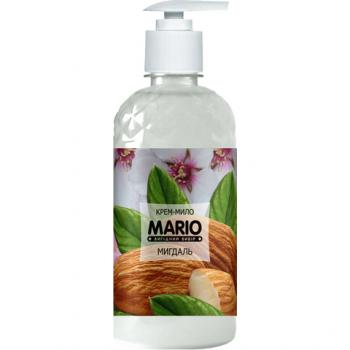 Жидкое крем-мыло MARIO 500мл (насос) Миндаль