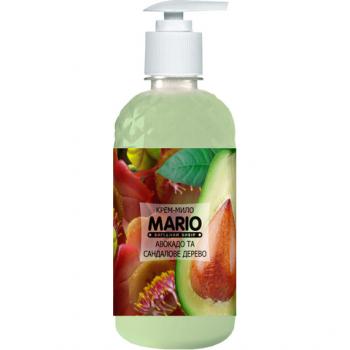 Жидкое крем-мыло MARIO 500мл (насос) Авокадо и сандаловое дерево