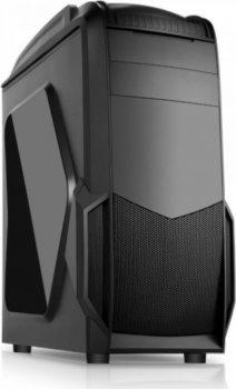 Корпус Akyga Midi Tower, Black (AKY011BG)