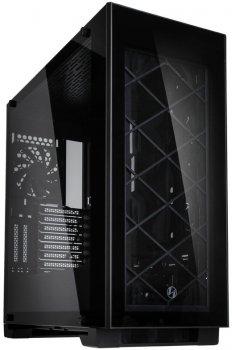 Корпус Lian Li Lian Li Alpha 330X Midi-Tower, Tempered Glass - Black - Alpha 330X
