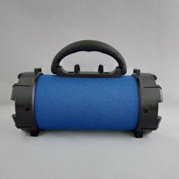 Портативная bluetooth MP3 колонка SPS F18 Синий
