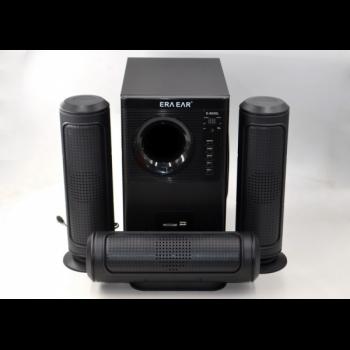 Акустическая система 3.1 ERA EAR Black E-6030 с Пультом Bluetooth,USB, FM-радио 60 Вт (EAROD)