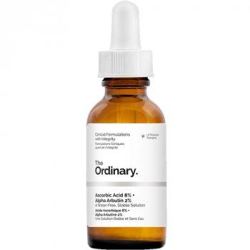 Сыворотка с витамином С 8% и альфа арбутином 2% The Ordinary Ascorbic Acid 8% + Alpha Arbutin 2% 30ml