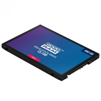 """Накопичувач SSD 2.5"""""""" 480GB GOODRAM (SSDPR-CL100-480-G2)"""