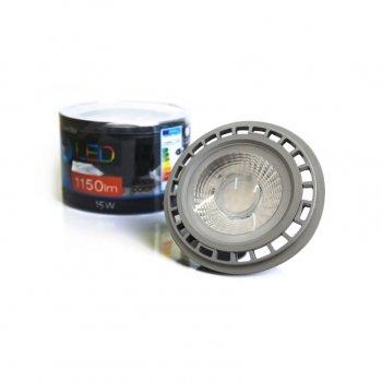 Світлодіодна лампа Azzardo Lampa Led 15W Es111 Grey Gu10 Dimmable 4300 (Ll210153)