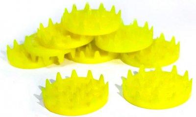 Аплікатор Кузнєцова Igora ТМ Ігора набір фішок жовті 100 штук (FSK-2)