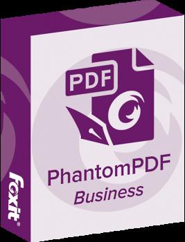 Офисное приложение Foxit PhantomPDF Business (1ПК), v9.x Commercial, постоянная лицензия (PHABSv09ECGAWINPP-1-4)