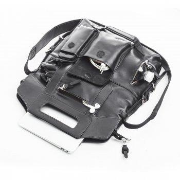 "Сумка-рюкзак для MacBook Pro 15,4"" Dublon Megapolis XL Modern Black (941)"