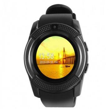 Фітнес годинник Smart Watch V8 black