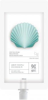 Маска для лица 9CC Deep Sea Pearl Blanchiment Moisturizing Pack Увлажняющая Замедляющая процессы старения для всех типов кожи 25 мл (8809480772436)