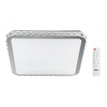 Світильник світлодіодний V-WATT Крісті 50W S пульт ДУ (Настінно-стельовий, Люстра LED)