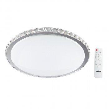 Світильник світлодіодний V-WATT Крісті 50W R пульт ДУ (Настінно-стельовий, Люстра LED)