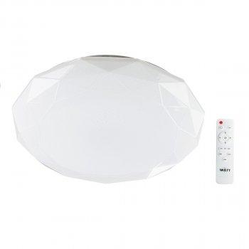 Світильник світлодіодний V-WATT Diamante 50W R пульт ДУ (Настінно-стельовий, Люстра LED)